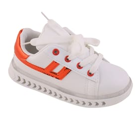 Enso White Unisex Kids Casual shoes