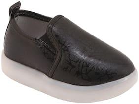 Enso Black Unisex Kids Casual shoes