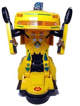 Inarnge Kids new Kids Deformation Autobots Robot Car