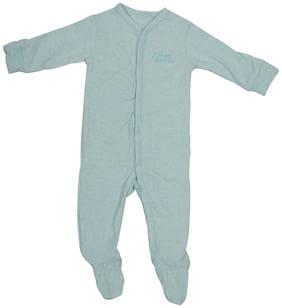 Indirang Baby boy Cotton Printed Body suit - Green
