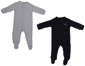 Indirang Baby boy Cotton Printed Body suit - Multi