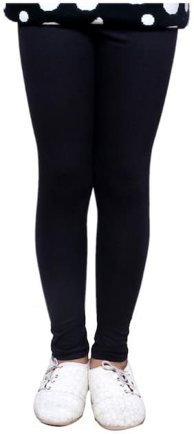 IndiStar Black Super Soft Cotton Leggings