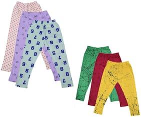 IndiStar Cotton Printed Leggings - Multi