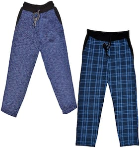 IndiStar Boy Wool Track pants - Blue