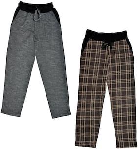 IndiStar Boy Wool Track pants - Multi