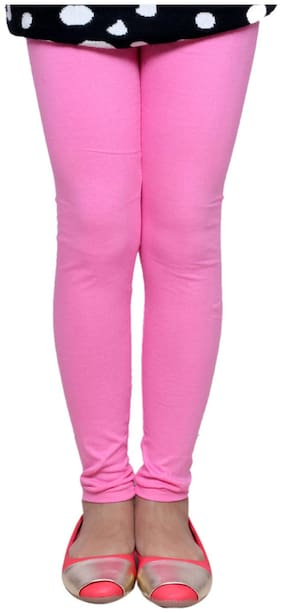 IndiStar Pink Super Soft Cotton Leggings