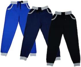 Indiweaves Boy Cotton Track pants - Multi