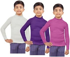 Indiweaves Boy Wool Striped Sweater - Multi