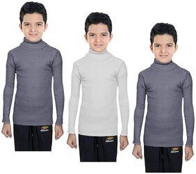 Indiweaves Boy Wool Solid Sweater - Multi
