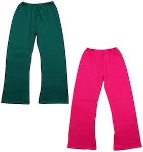 Indiweaves Girl Wool Trousers - Multi