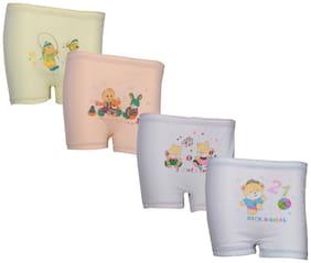 Indiweaves Panty & bloomer for Girls - Multi , Set of 4