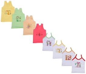 Indiweaves Vest for Girls - Multi , Set of 6