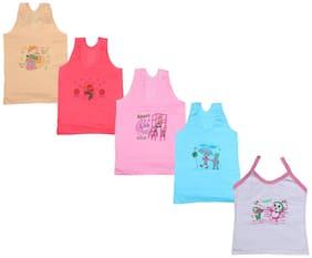 Indiweaves Vest for Girls - Pink , Set of 1