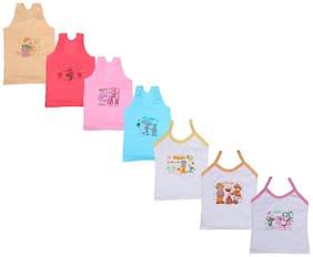 Indiweaves Vest for Girls - Multi , Set of 1
