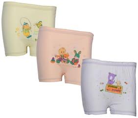 Indiweaves Panty & bloomer for Girls - Multi , Set of 3