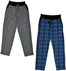 Indiweaves Boy Wool Track pants - Blue
