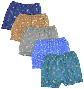 Infants Bloomer 100% Cotton Pack Of 5
