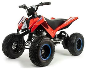 Injusa Made in Spain Quad Bateria X-Treme Hunter for Kids 24 V Lights;Stand-by;Disc Brake