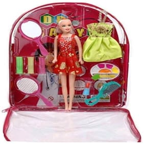 Inrange Bag Doll With Makeup accessories in bag