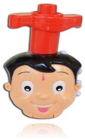Inrange Choota Bheem Top Spinner with Flash Light and Music Toy  lattu