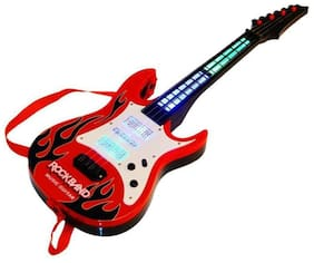 Inrange eEdgestores Kids new Kids Battery Operated Music And Lights Rock Band Guitar For Kids