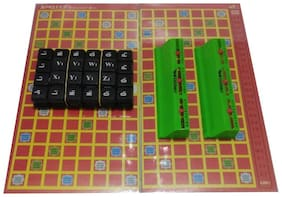 Inrange new Kids CROSSWORD 2 to 4 Players Family Board Game Board Game