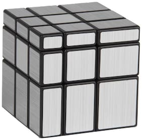 Inrange new Kids Fun 3*3*3 Magic Cube Silver Mirror Magic Cube (1 Piece)
