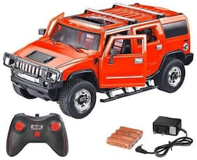 Inrange new Kids Open door Full Function Remote Controlled Hummer Model Car With Chargeable Batteries And Charger