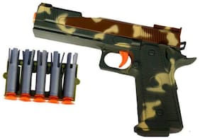 Inrange Power fire pistol gun for kids with bullet and Gogals
