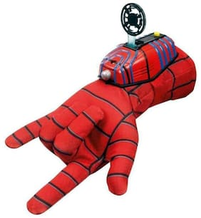 Inrange Ultimate Spiderman Gloves with Disc launcher for Kids