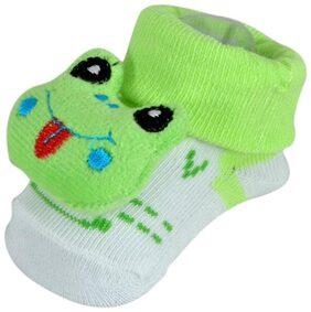 Instabuyz Green Booties For Infants