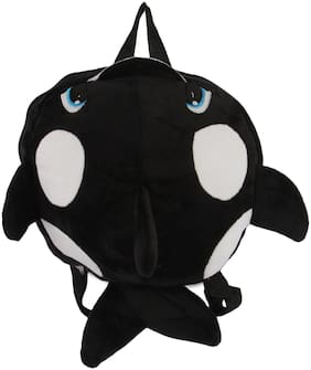 INSTABUYZ Cute Fish Backpack Soft School Bagpack for Kids