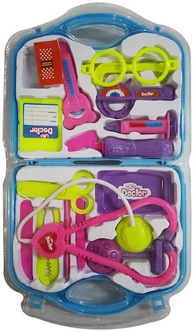 Instabuyz Little Doctor Play Set Colour (Blue)