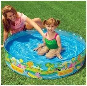 Intex ir Intex Swimming 4 ft Pool For Kids No Inflation Home Garden Farmhouse No Need For An Air Pump Just Unfold & Ready To Use
