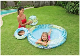 Intex Just So Fruity Pool Set includes Beach Ball, and Swim Ring Kids Brand New