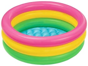 Intex Multi Color Inflatable Water Tub Pool