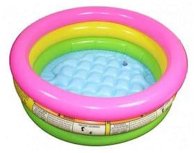 Intex Multicolor Inflatable Baby Swimming Pool - 2 Feet