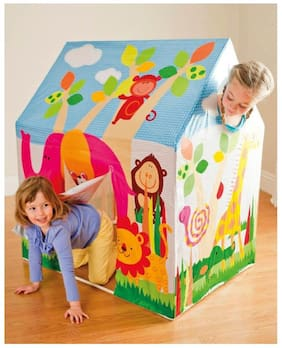 Intex Tent House For Boys & Girls Outdoor Fun Activity Jungle Theme Baby Tent House Play Game