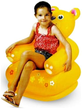 Intex Yellow Inflated Bear Chair
