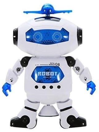 Intra 360 degrees Naughty Digital Dancing Robot