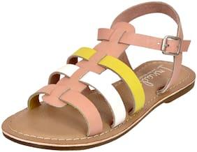 IRNADO Multi-Color Girls Sandals