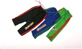 iSHU Boy Cotton Track pants - Multi
