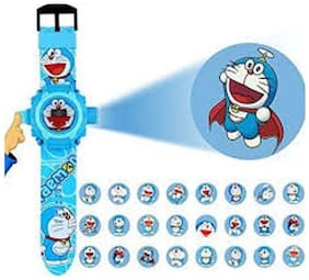 Ismart  Doraemon Projector Kids  Boys & Girls Watch (Ismart00068)