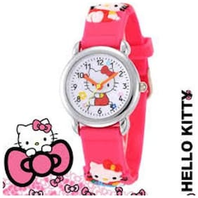 Ismart  Kids Pink Analog Wrist Watch(Ismart00037)