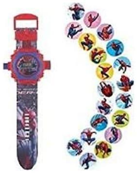 Ismart  Spiderman Projector Kids  Boys & Girls Watch (Ismart00067)