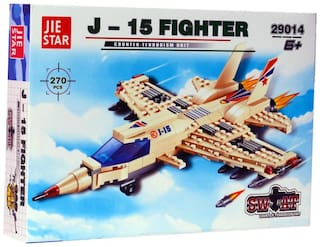 Planet of Toys J-15 Fighter Building Blocks (270 pcs)