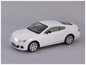 J H TRADERS Remote Control Silver First Leader Car 330
