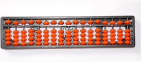 Jadayu Abacus Kits 17 Rod Arithmetic Calculating Tool Abacus for Kids to Enhance Their Counting Skills Mathematics Teacher Abacus Age 4+ Counting Addition Subtraction Maths Early Educational System