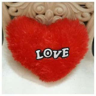 JAIN STAR heart shaped pillow for your valentine/someone special