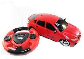 Jakmean Remote Control Car Toy- Red